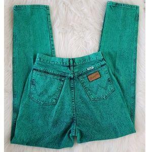 Vintage Acid Washed WRANGLER Jeans